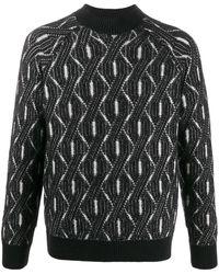 Missoni ウースパターン ニットセーター - ブラック