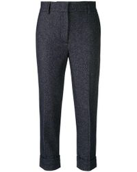 Woolrich - Cropped Trousers - Lyst
