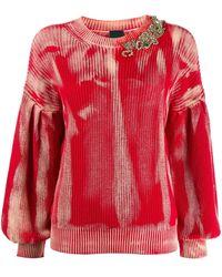 Pinko - Maglione con decorazione - Lyst