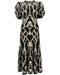 Alexander McQueen ニットドレス - ブラック
