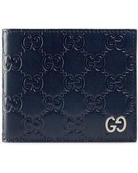 Gucci - Бумажник ' Signature' - Lyst