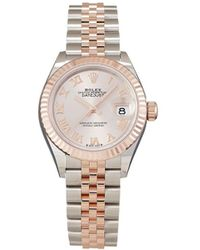 Rolex Orologio Lady-Datejust 28mm mai indossato 2021 - Rosa