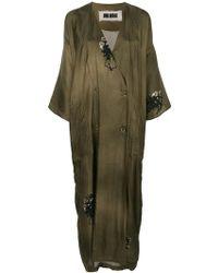 Uma Wang - Kimono Double Breasted Coat - Lyst
