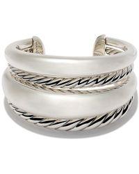 David Yurman Pure Form Bold Cuff - Metallic