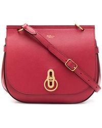 Mulberry Petit sac à bandoulière Amberley - Rouge