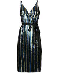Robert Rodriguez - Sequin Midi Dress - Lyst