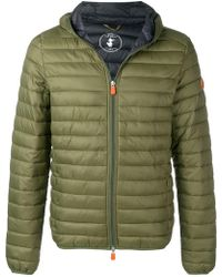 Save The Duck - Zipped Padded Jacket - Lyst