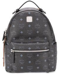 MCM Visetos Backpack - Black