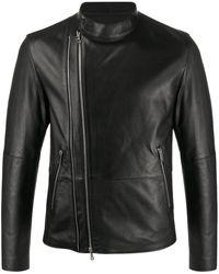 DESA NINETEENSEVENTYTWO ライダースジャケット - ブラック