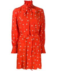 Marc Jacobs Magda Archer X The Shirt Dress - Red