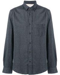 644a6fa4c7 Lyst - Acne Isherwood Denim Shirt in Blue for Men