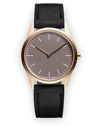 Uniform Wares C33 Two Hand Horloge - Metallic