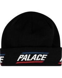 Palace 360 ニットビーニー - ブラック
