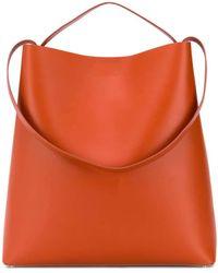 Aesther Ekme Shoulder Strap Shopper Bag - Orange