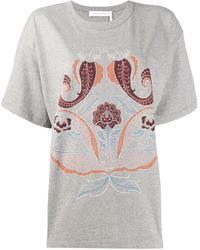 See By Chloé - ペイズリー Tシャツ - Lyst