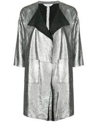 Giorgio Brato - Metallic Panelled Jacket - Lyst