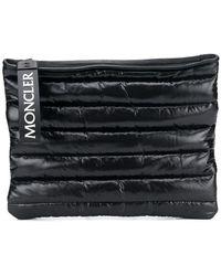 Moncler Стеганый Клатч - Черный