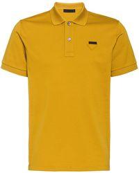 Prada - ロゴパッチ ポロシャツ - Lyst