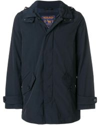 Woolrich - Zipped Fitted Jacket - Lyst
