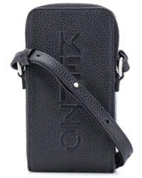 KENZO Мини-сумка С Тисненым Логотипом - Черный