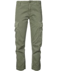 RE/DONE - Cropped Cargo Trousers - Lyst