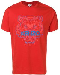 KENZO Tiger Tシャツ - レッド