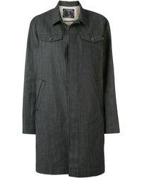 Undercover デニム シングルコート - ブラック