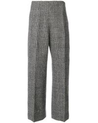 Ermanno Scervino - Cropped Tailored Trousers - Lyst