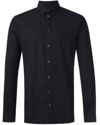 Dolce & Gabbana Classic Slim Fit Shirt - Черный