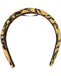 Versace Haarband mit Barock-Print - Mehrfarbig