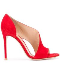 6c53fd825e Christian Louboutin Demi You Glitter Peep-toe Pumps in Pink - Lyst