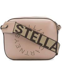 Stella McCartney - Мини Сумка Через Плечо Stella Logo - Lyst