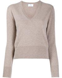 Allude - カシミア Vネックセーター - Lyst