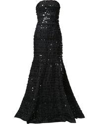 Carolina Herrera - ストラップレス ドレス - Lyst
