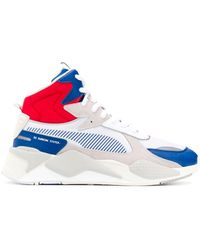 PUMA 'RS-X Midtop Utility' High-Top-Sneakers - Weiß