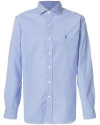 Polo Ralph Lauren Kariertes Hemd - Blau