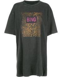 Anine Bing Harley Tシャツ - マルチカラー