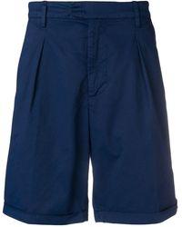 Dondup Classic Chino Shorts - Blue