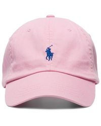 Polo Ralph Lauren Logo-embroidered Cap - Pink