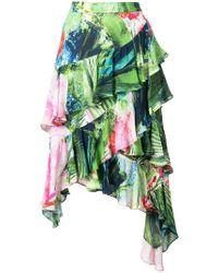 b9278a604 Josie Natori - Sunset Palms Tiered Skirt - Lyst