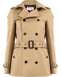 1218ba485aa Women's Saint Laurent Coats - Lyst