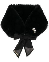 Karl Lagerfeld K/ikonik Scarf - Black