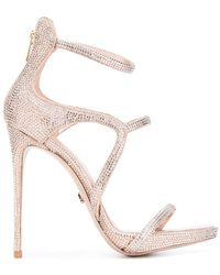 Le Silla - Strappy Stiletto Sandals - Lyst