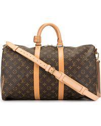 Louis Vuitton 'Keepall 45' Reisetasche - Braun