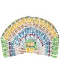 Missoni Turbante con motivo zig-zag - Multicolore