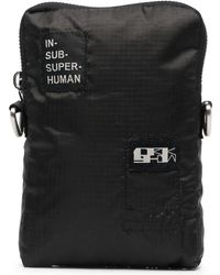 Rick Owens Drkshdw Logo Patch Laptop Sleeve - Black