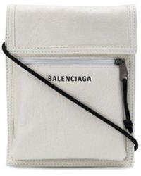 Balenciaga Сумка Explorer С Ремешком На Шею - Белый