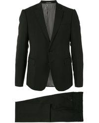 Emporio Armani Slim Fit Two Piece Suit - Black