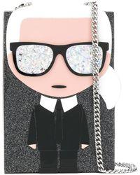 Karl Lagerfeld 'K/Ikonik' Clutch