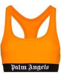 Palm Angels スポーツブラ - オレンジ